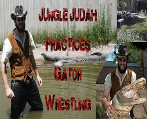 Bull Riding and Gator Wrestling